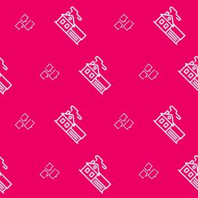 Pattern Design - #IconPattern #PatternBackground #building #state #interface #buildings #chatting #speech #balloon #conversation #real