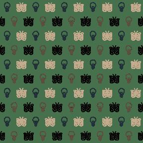 Pattern Design - #IconPattern #PatternBackground #animals #light #illumination #idea #moths #tiger #common