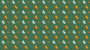 HD Pattern Design - #IconPattern #HDPatternBackground #horse #circular #filming #circle #horses #animals