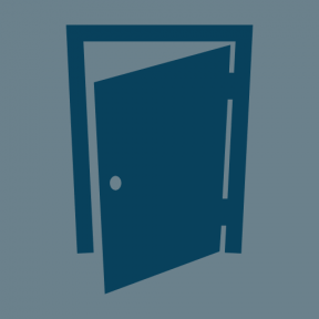 Icon Graphic - #SimpleIcon #IconElement #opened #construction #door #architecture #part #entrance #buildings
