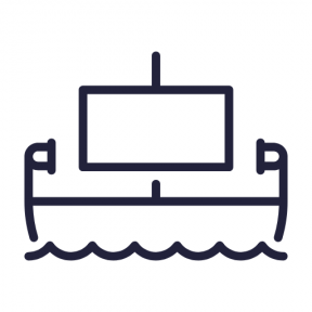 Icon Graphic - #SimpleIcon #IconElement #transport #ancient #Nile #egypt