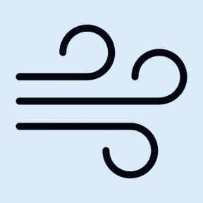 Icon Graphic - #SimpleIcon #IconElement #weather #atmosphere #air #meteorology #windy #cold