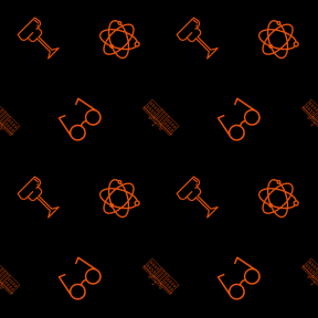 Pattern Design - #IconPattern #PatternBackground #nuclear #atoms #technology #united #president #vision #monument #glasses #optical #food