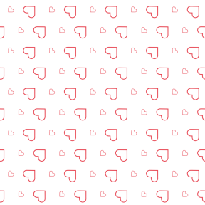 Pattern Design - #IconPattern #PatternBackground #favorite #loving #lover #shapes #valentines #heart