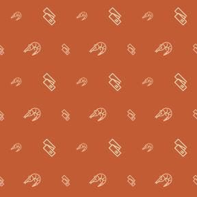 Pattern Design - #IconPattern #PatternBackground #exercising #seafood #life #animals #gourmet #sports