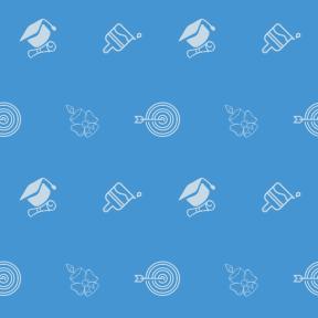 Pattern Design - #IconPattern #PatternBackground #hat #education #arrow #archery #christmas #graduate #illumination #arrows #drop #diploma