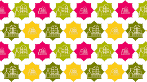 HD Pattern Design - #IconPattern #HDPatternBackground #rectangles #florets #shape #scalloped #bg #ribbon #strips