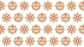 HD Pattern Design - #IconPattern #HDPatternBackground #clouds #label #nature #shining #ragged #sun #corners #shapes