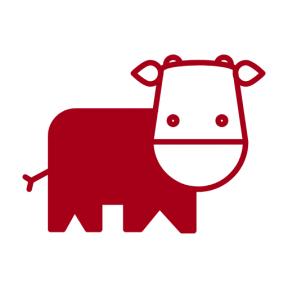 Icon Graphic - #SimpleIcon #IconElement #cow #cartoon #nature #cows #variant