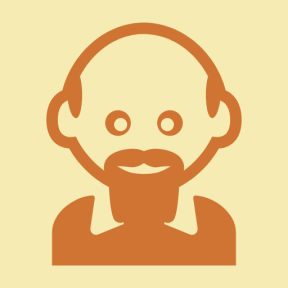 Icon Graphic - #SimpleIcon #IconElement #head #male #man #bald #people #barb #men #beard
