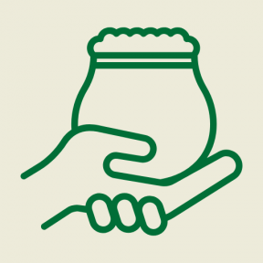 Icon Graphic - #SimpleIcon #IconElement #meal #food #indian #hand #india
