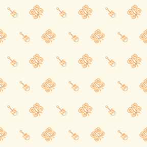 Pattern Design - #IconPattern #PatternBackground #animals #music #peacock #butterfly #musical #string #insect #moths