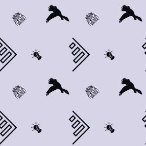 Pattern Design - #IconPattern #PatternBackground #and #it #ecology #bird #statistics #animal #illumination #bar #silhouette