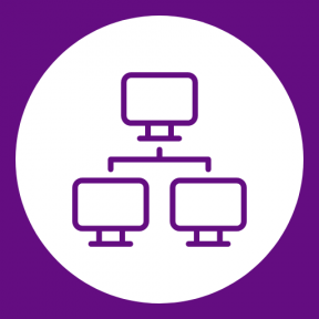 Icon Graphic - #SimpleIcon #IconElement #circle #computer #screen #shapes #networking #office #connection #adding #technology #button