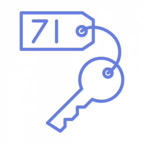 Icon Graphic - #SimpleIcon #IconElement #hotel #password #key #keyword #open #access
