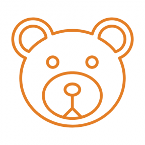 Icon Graphic - #SimpleIcon #IconElement #toys #bears #toy #childhood #babies #animals #child #baby