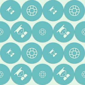 Pattern Design - #IconPattern #PatternBackground #utensils #graduate #person #shapes #circular #tool #graduation