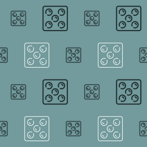 Pattern Design - #IconPattern #PatternBackground #luck #casino #square #gambler #gambling
