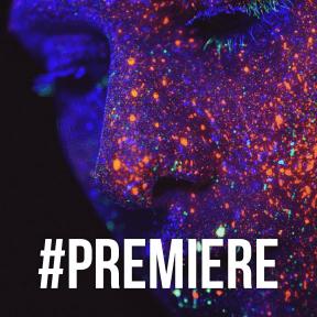 Profile Phote - #Avatar #blue #darkness #electric #glitter #night #organism #space #light #violet #purple