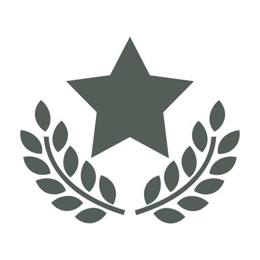Leaf, Tree, Pattern, Graphics, Font, Star, Symbol, Olive, Award, Recognition, Symbolic, Awards, Branches,  Free Image