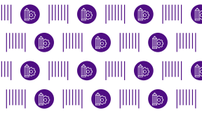 HD Pattern Design - #IconPattern #HDPatternBackground #shopping #symbols #outline #search #commerce #barcode