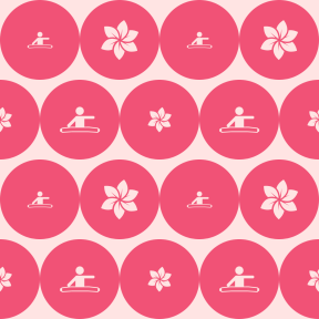 Pattern Design - #IconPattern #PatternBackground #circular #sports #circles #flower #gardening