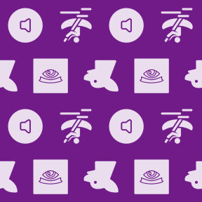 Pattern Design - #IconPattern #PatternBackground #sound #loud #music #dog #pet #outline #helm