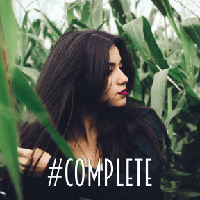 Profile Phote - #Avatar #hair #commodity #girl #plant #grass #family #long