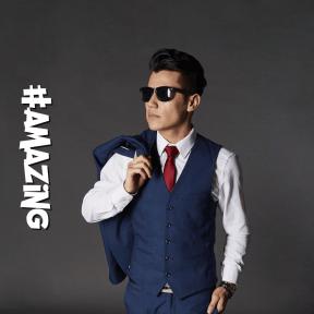 Profile Phote - #Avatar #wear #necktie #outerwear #vision #care