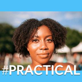 Profile Phote - #Avatar #forehead #black #girl #face #afro #hairstyle #head #hair #beauty