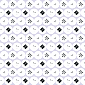 Pattern Design - #IconPattern #PatternBackground #utensils #shapes #polygonal #horror #hexagonal #circular #cover #shape