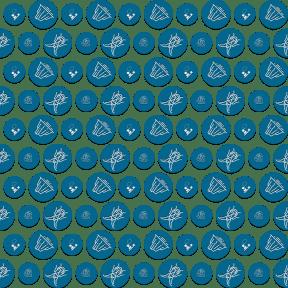 Pattern Design - #IconPattern #PatternBackground #top #iceberg #polar #animals #shapes #view #desk