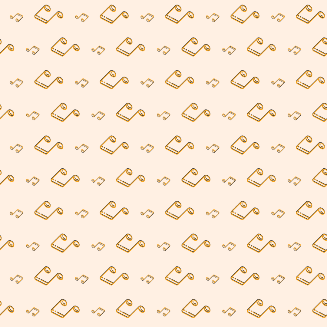 Pattern Design - #IconPattern #PatternBackground #musical #music #quaver #note #player