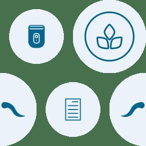 Pattern Design - #IconPattern #PatternBackground #sticker #leaves #eco #leaf #geometrical #education #circular #plants #documents