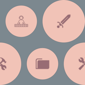Pattern Design - #IconPattern #PatternBackground #shape #container #information #file #geometric #weapon #manager #mix #disco #storage