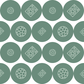 Pattern Design - #IconPattern #PatternBackground #circles #shapes #shape #ball #lab #sports #tool #symbol #circle