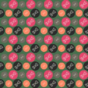 Pattern Design - #IconPattern #PatternBackground #geometric #shapes #circle #clocks #watch #shape
