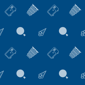 Pattern Design - #IconPattern #PatternBackground #bank #pyramidal #dessert #save #food #construction #architecture #banking