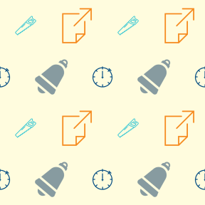 Pattern Design - #IconPattern #PatternBackground #bell #construction #file #arrows #Tools #pages #arrow