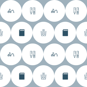 Pattern Design - #IconPattern #PatternBackground #card #shape #and #tool #carnival #clothing