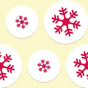 Pattern Design - #IconPattern #PatternBackground #cold #circles #shapes #rounded #round #circle #weather