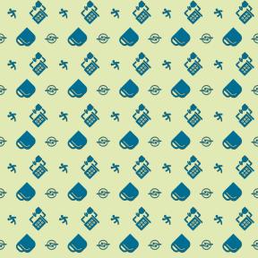 Pattern Design - #IconPattern #PatternBackground #cups #beverage #sports #olympic #team