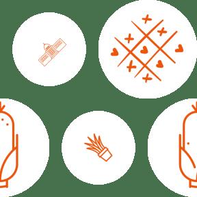 Pattern Design - #IconPattern #PatternBackground #game #medical #gardening #hearts #tac #yard #shape #food #cereal #garden