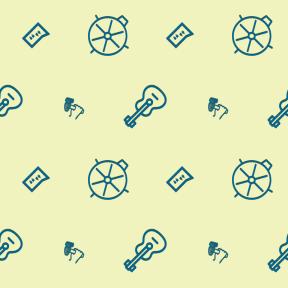 Pattern Design - #IconPattern #PatternBackground #mark #hand #instrument #tools #hobbies #hammers #bubble #speech