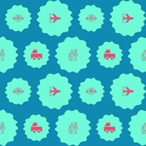 Pattern Design - #IconPattern #PatternBackground #marriage #nature #flight #man #flying