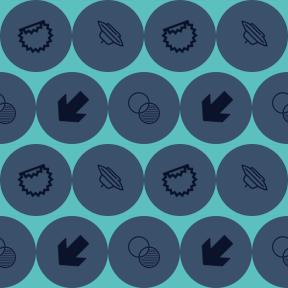 Pattern Design - #IconPattern #PatternBackground #commerce #geometric #symbol #left #outlined #mathematics #arrows #shapes #Science #not