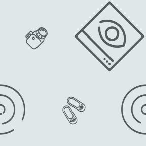 Pattern Design - #IconPattern #PatternBackground #circular #vision #geometric #focus #interface #shoes