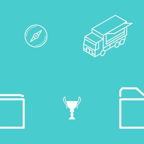 Pattern Design - #IconPattern #PatternBackground #trophies #document #cup #transport #file #sport #directional #education
