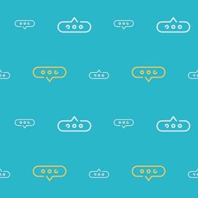 Pattern Design - #IconPattern #PatternBackground #speech #balloon #chatting #conversation #chat #bubble #interface