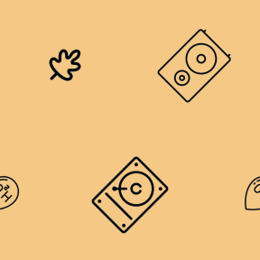 Pattern Design - #IconPattern #PatternBackground #leaves #teardrop #computer #element #storage #volume #liquid #nature #fall